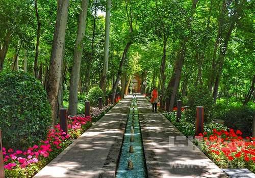 بوستان باغ ایرانی ونک