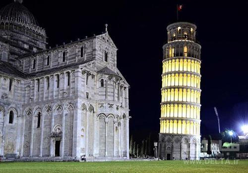 برج کج پیزا ایتالیا