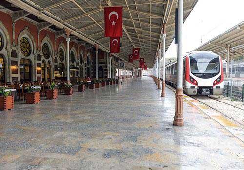 اولین قطار تهران-آنکارا