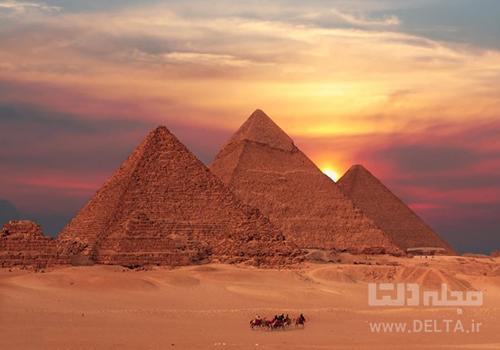 ابو سمبل و اهرام مصر