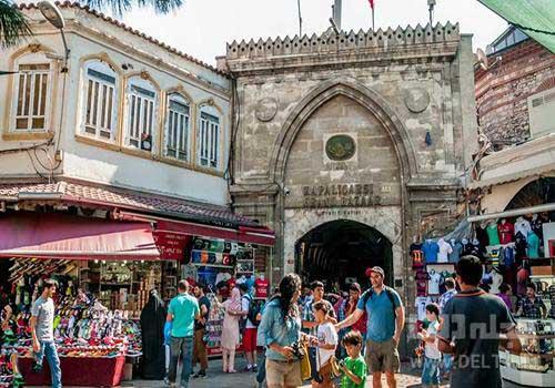 ورودیه بازار استانبول