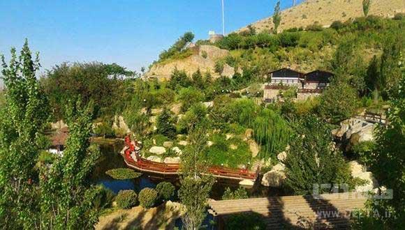 مسیر سبز آبشار تهران