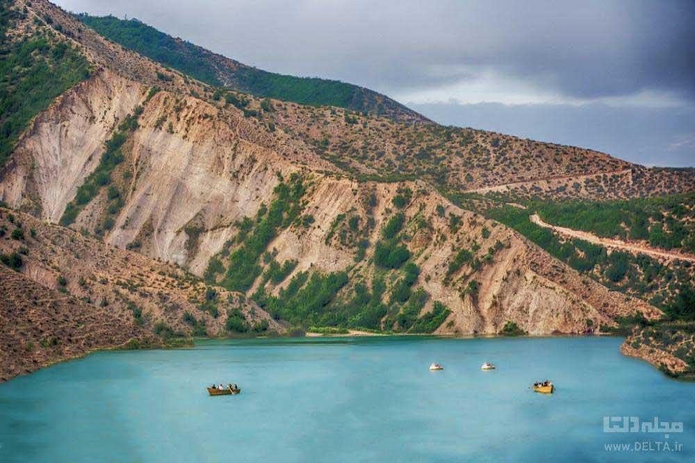 زیبایی های دریاچه ولشت