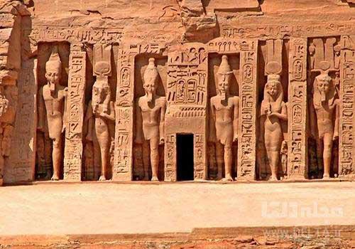 معبد دوم ابو سمبل