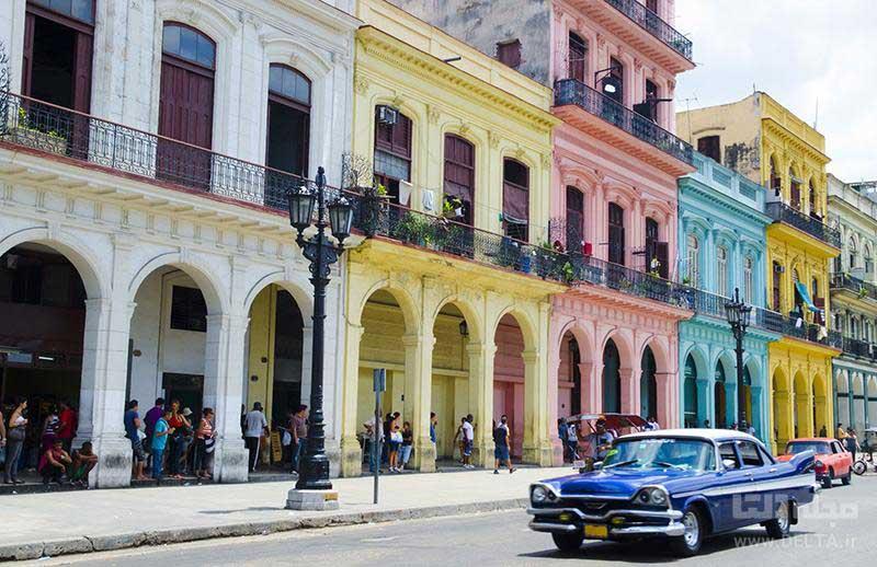 خانه ها در کوبا