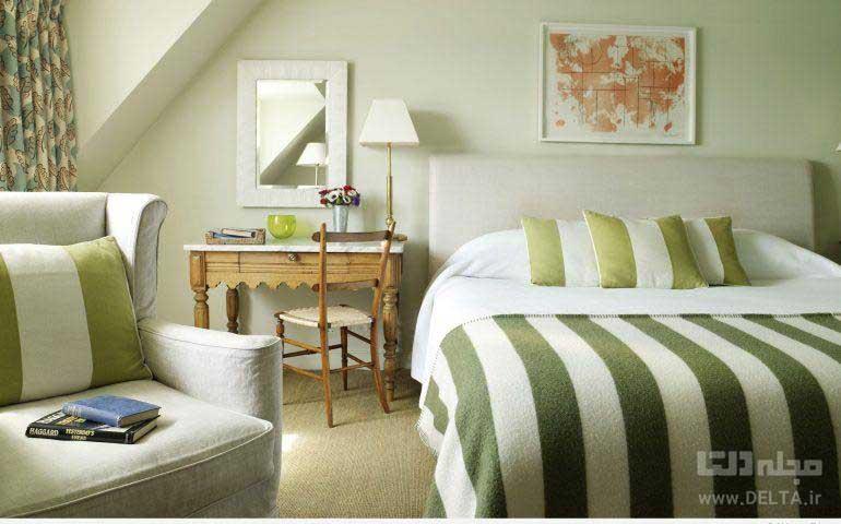 تغییر رنگ اتاق خواب