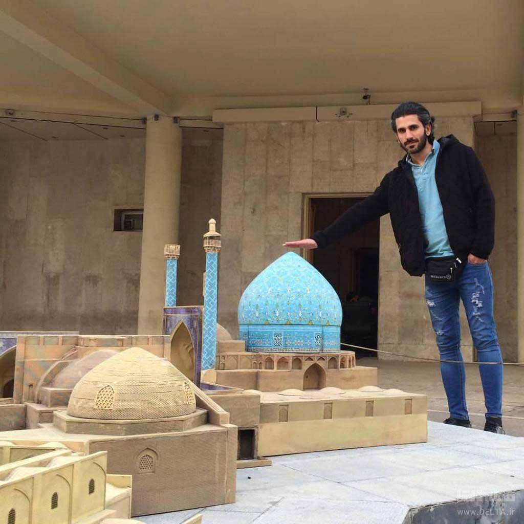 باغ موزه مینیاتور جاهای دیدنی تهران