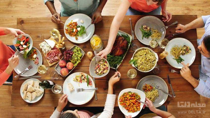 ترکیبات مواد غذایی