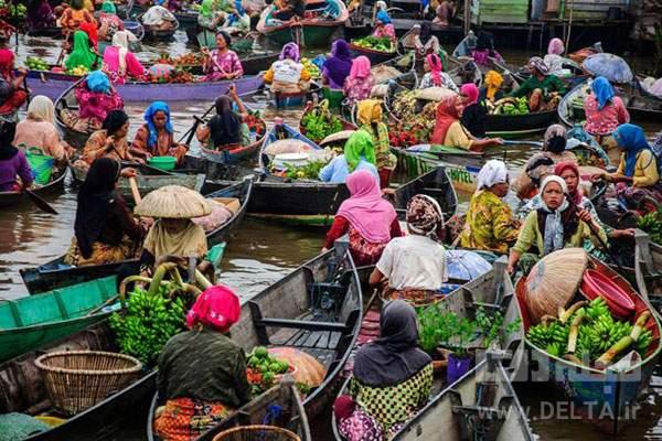لوک بینتان بازار شناور