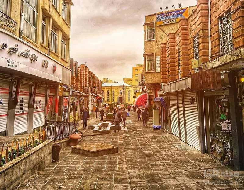 خیابان تربیت تبریز کجاست؟