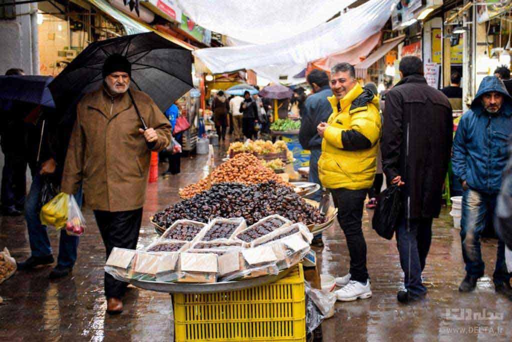 بازار روز رشت