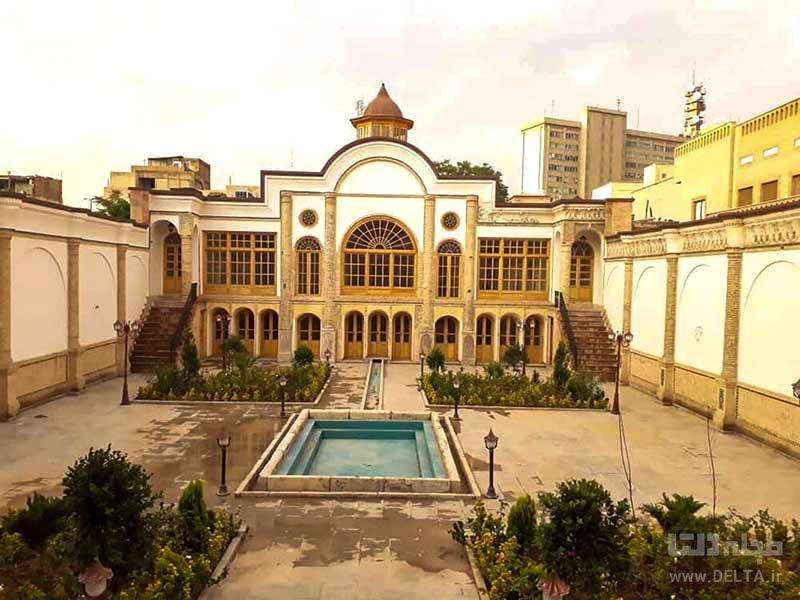عمارت مهرانگیز در محله عودلاجان تهران