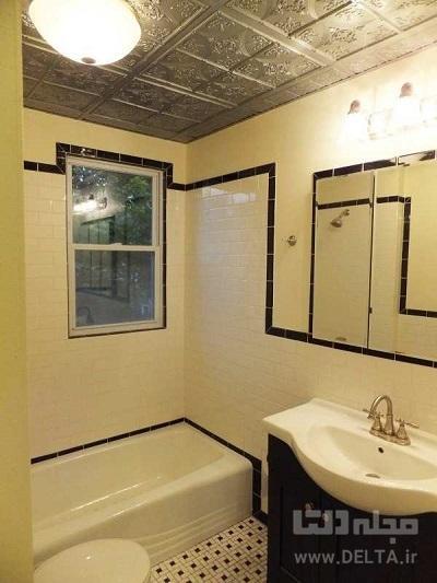 انواع سقف کاذبحمام و سرویس بهداشتی