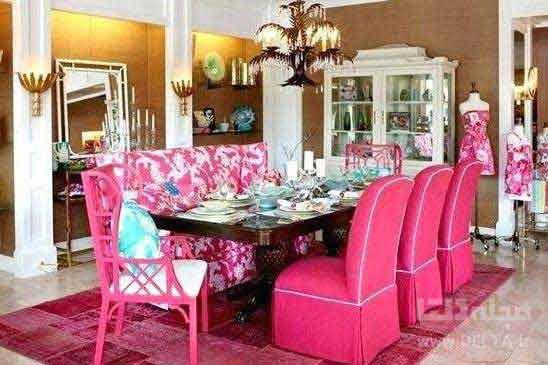 رنگ های اتاق ناهار خوری