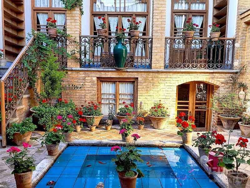 خانه مدرس در محله عودلاجان تهران