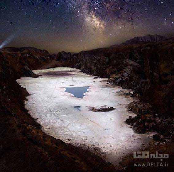 گنبد نمک قم تهران