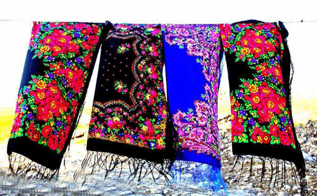 روسری ترکمنی