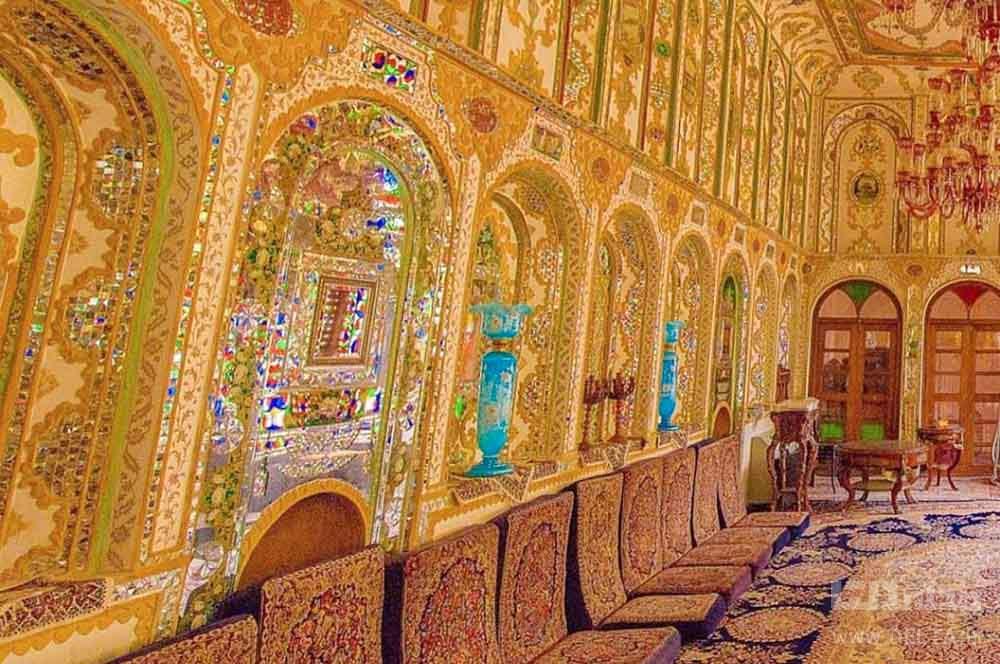 اتاق های خانه ملاباشی اصفهان