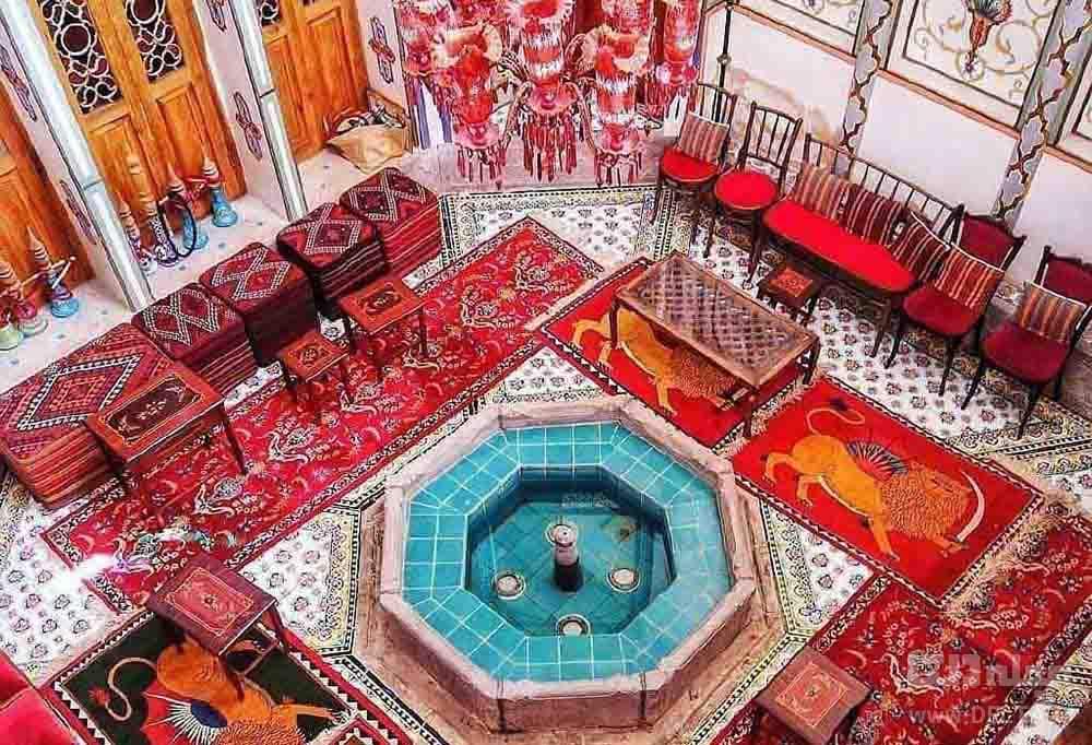 اندرونی خانه ملاباشی اصفهان