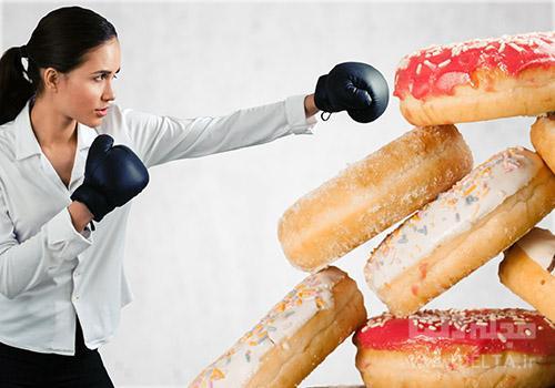 کاهش میزان مصرف شکر