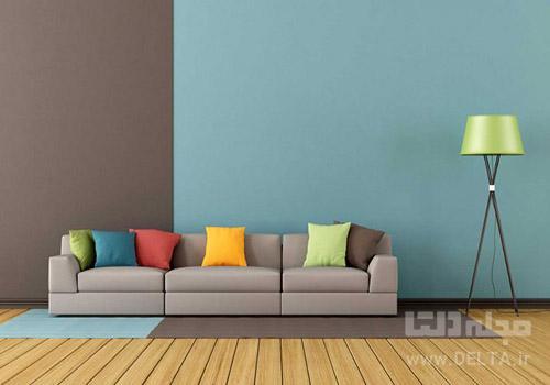 ترکیب رنگ دکوراسیون