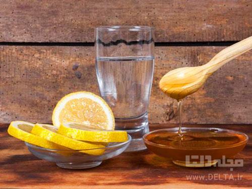 عسل و آب