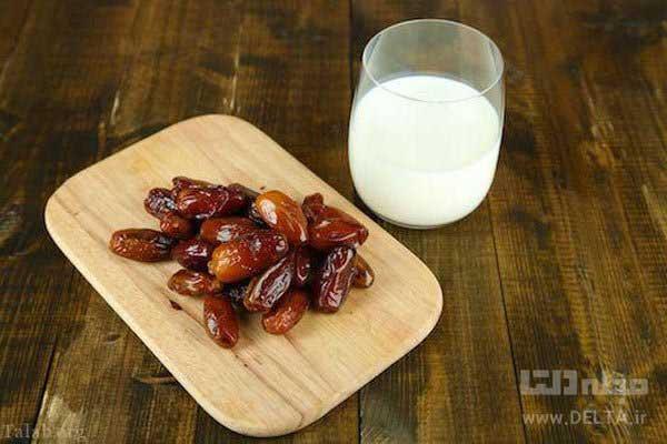 رژیم لاغری شیر و خرما