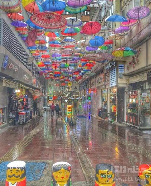 کوچه چتری میدان انقلاب