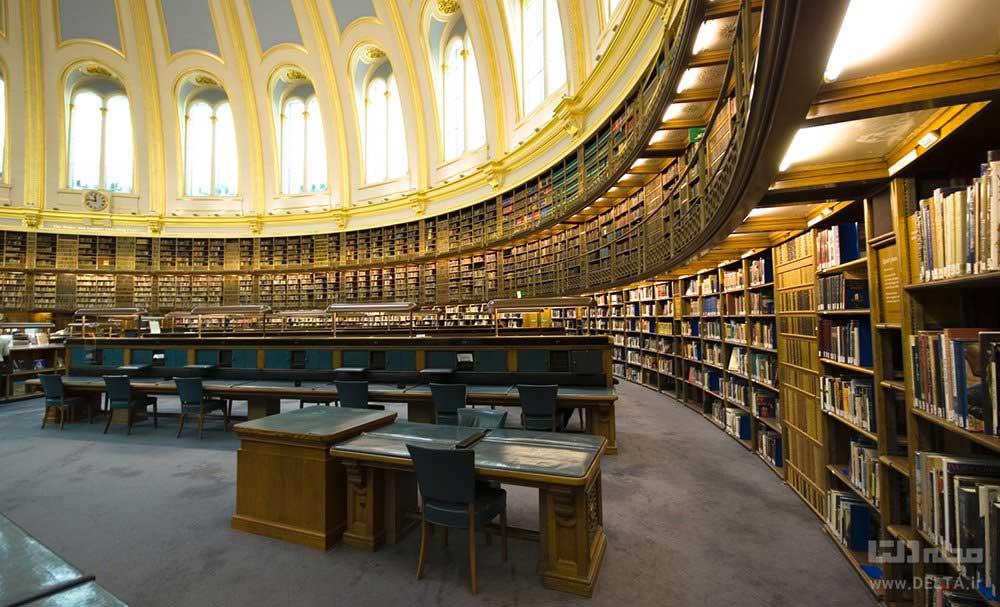 کتابخانه موزه بریتانیا