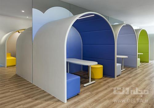 معماری داخلی کودکستان