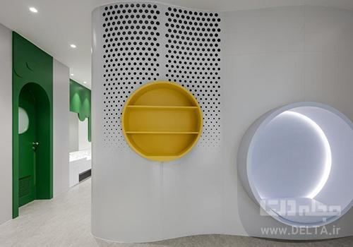 طراحی داخلی مهد