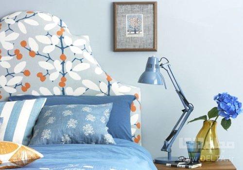 تاج تخت در دكوراسيون اتاق خواب
