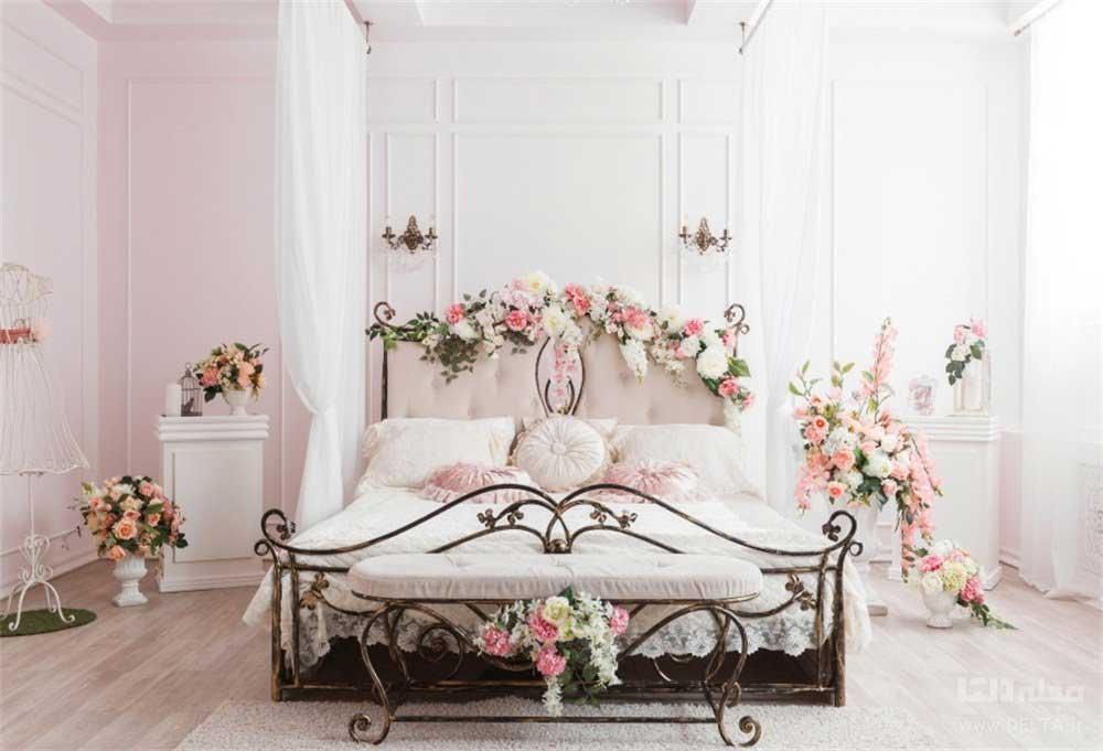 اتاق خواب عروس شیک