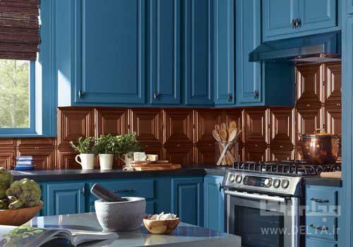 رنگ كابينت آشپزخانه