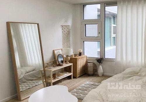 تزیین اتاق خواب کوچک