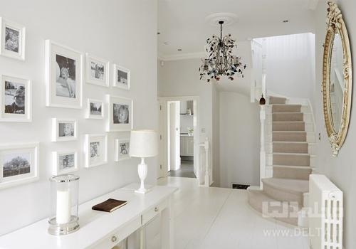 رنگ سفيد در دكوراسيون و طراحي