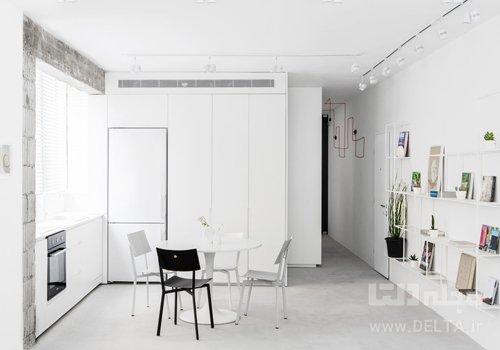 رنگ سفيد در طراحي داخلي