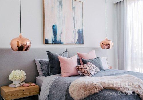 تركيب رنگ در دكوراسيون اتاق خواب