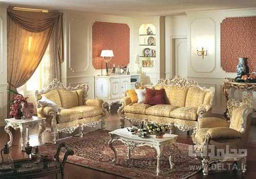 مبلمان استيل در خانه ايراني