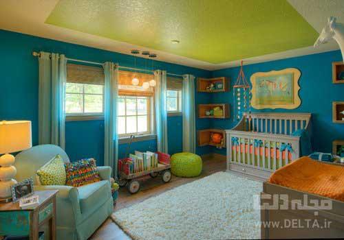 رنگ آميزي سقف منزل