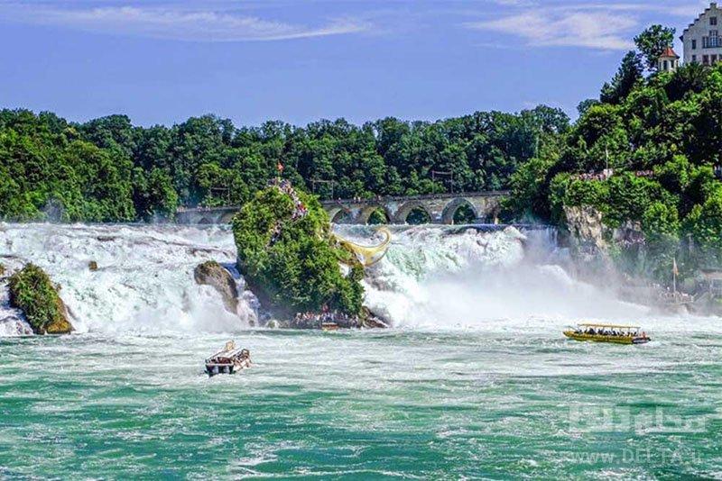 آبشار راين سوئيس
