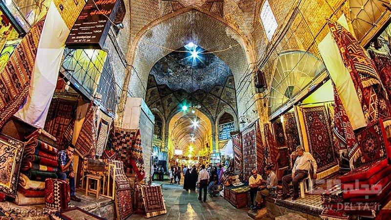 بازار وکیل جاذبه های گردشگری شیراز
