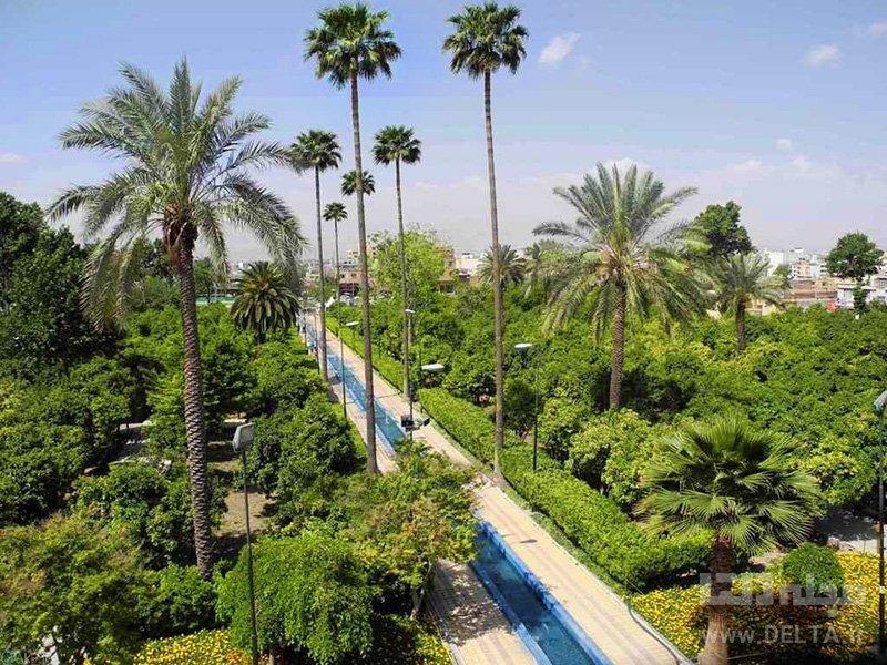 باغ دلگشا جاذبه های گردشگری شیراز