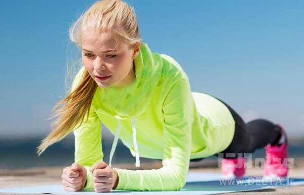 لاغری شکم و پهلو با ورزش