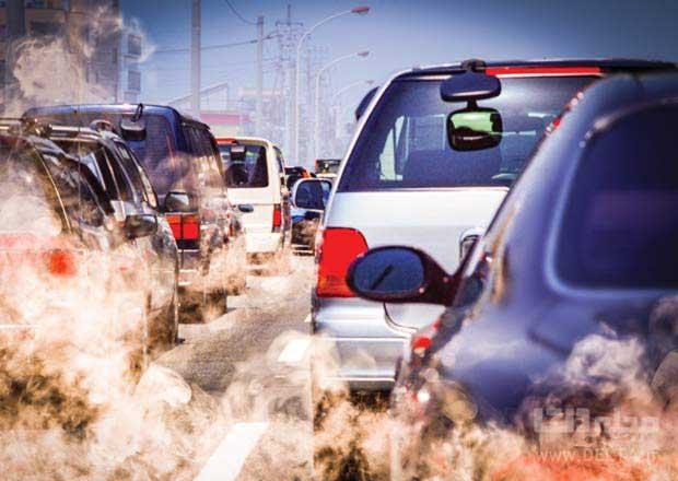عوامل آلودگی هوا