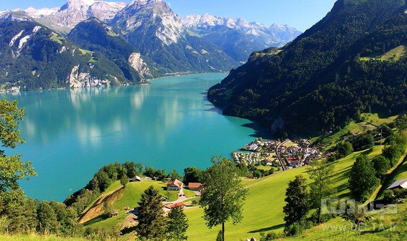 دریاچه لوسرن جاهای دیدنی سوئیس