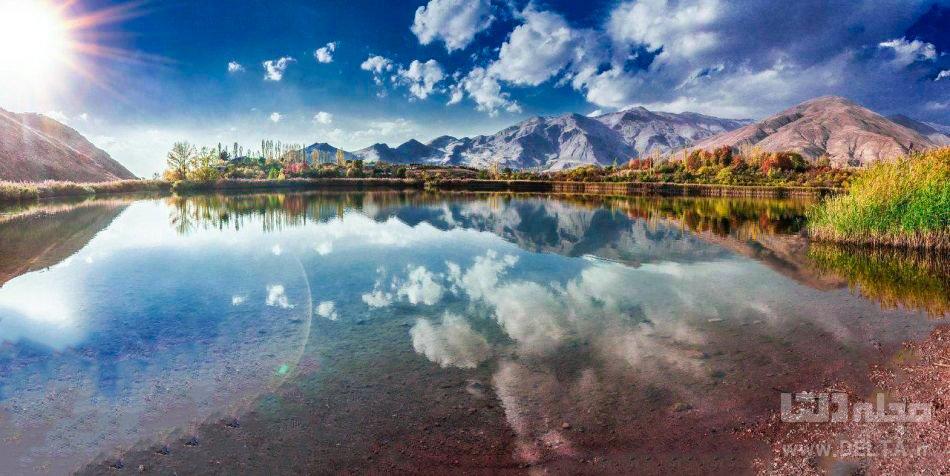 دریاچه اوان در پاییز