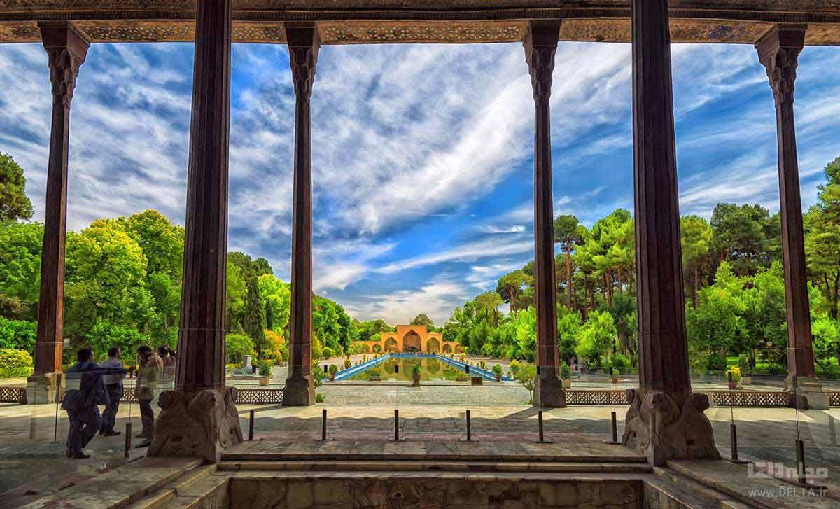 حوض کاخ چهل ستون