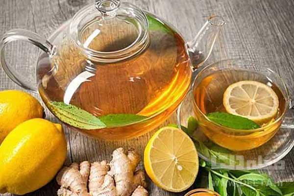 خواص دمنوش و چاي به ليمو