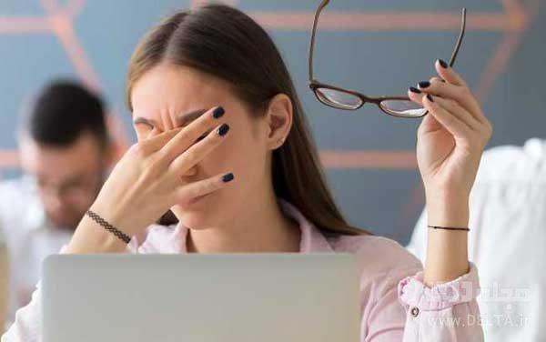 علت خشكي چشم